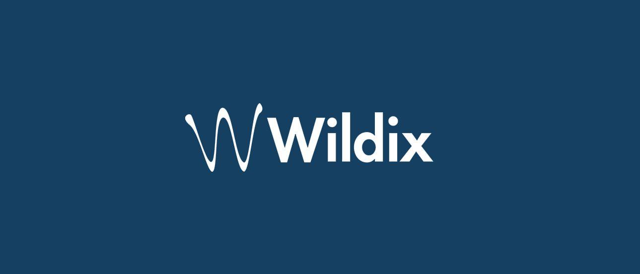 logo for telecommunications company Wildix.