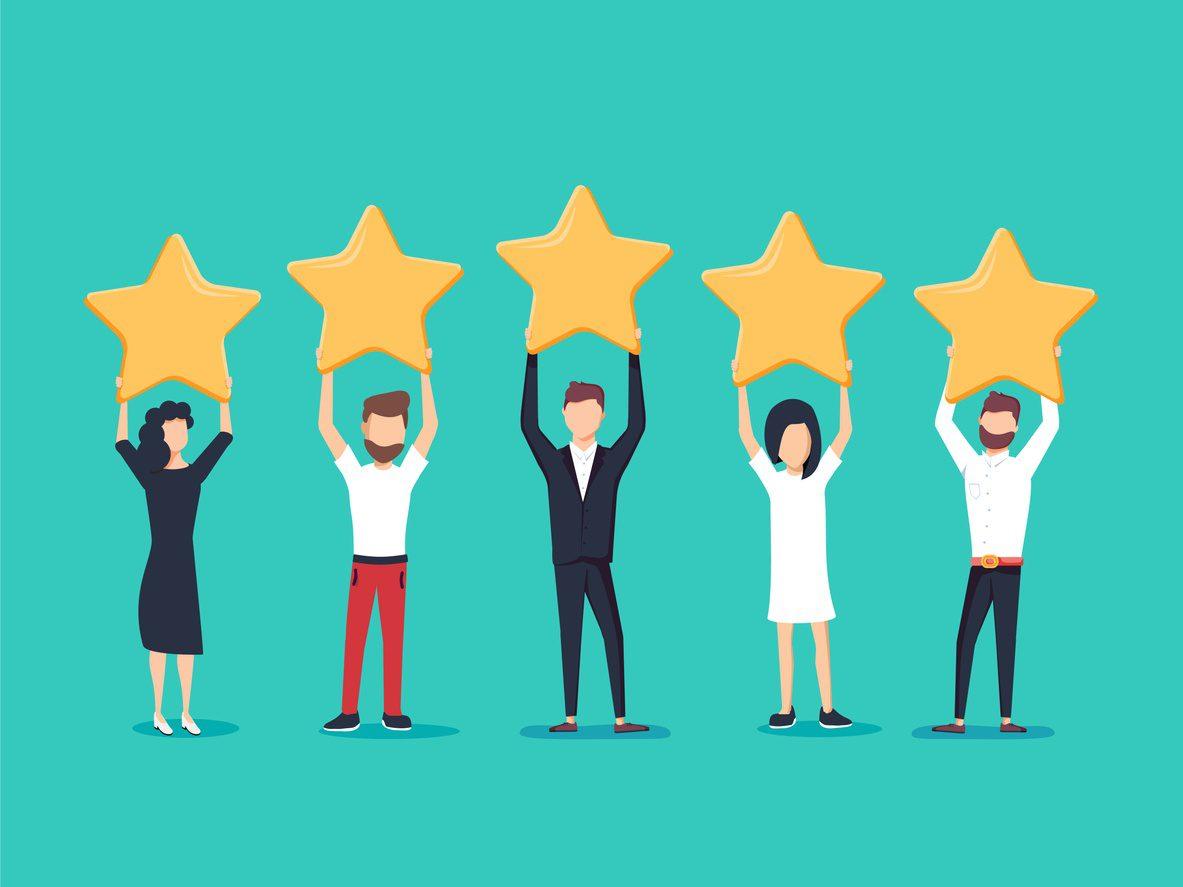 people celebrating hospitality awards Southampton 2020