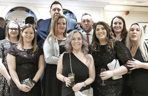 ElemenTel team at Southampton Hospitality Awards 2020